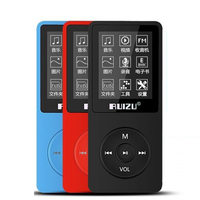 Original RUIZU X02 MP3 Player With 1 8 Inch Screen Can Play 100 Hours 8gb With