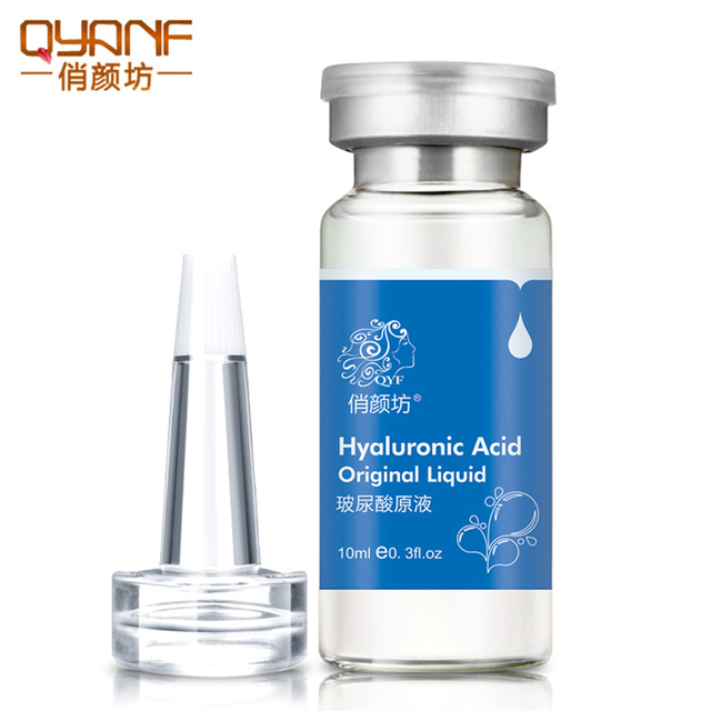 QYF Brand Hyaluronic Acid Essence Serum Moisturizing Anti Wrinkle Anti-Allergy Face Lift Skin Care Cream Acido Hialuronico