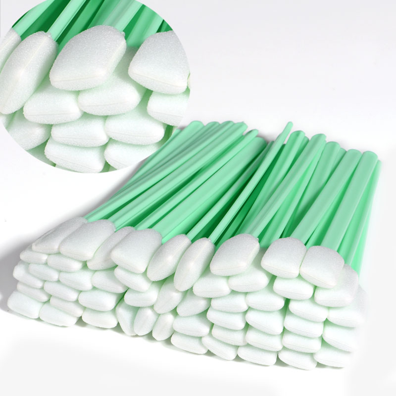 Solvent Foam Tipped Cleaning Swabs Cleaning stick for  Epson/Roland/Mimaki/Mutoh LargeFormat