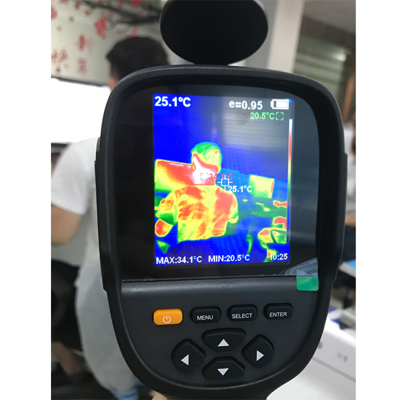 New HT-19 Thermal Imaging Camera With Screen Display For Overhaul and Outdoor 11