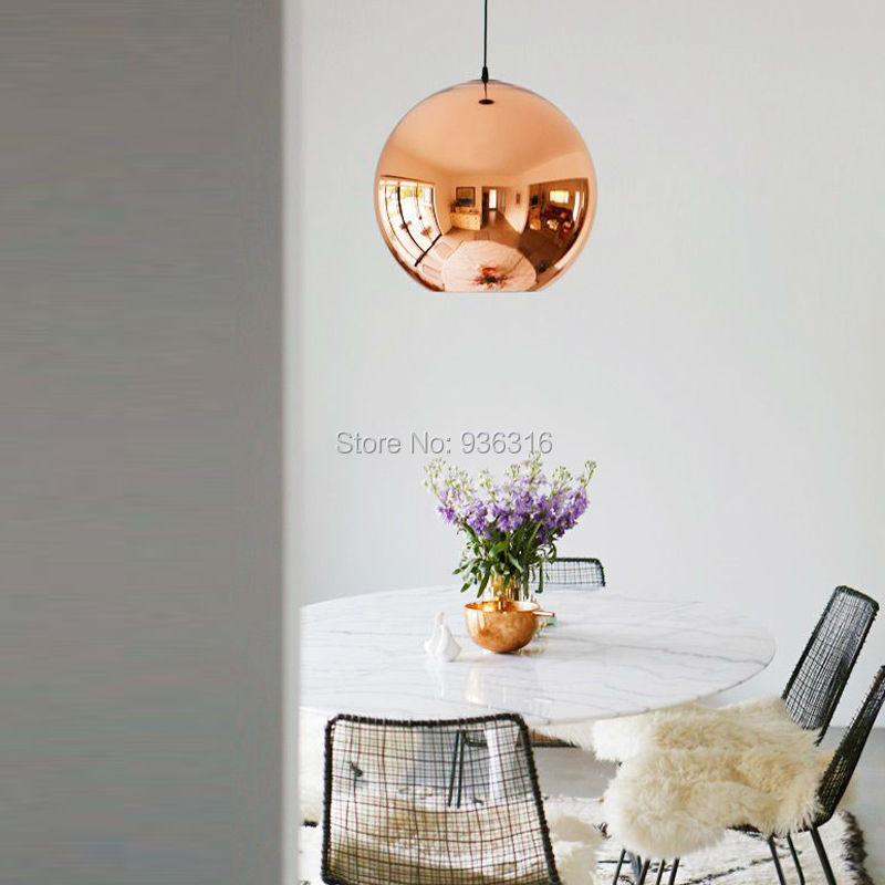 Nordeuropa Moderne Kupfer Splitter gold Schatten Spiegel hängen ...