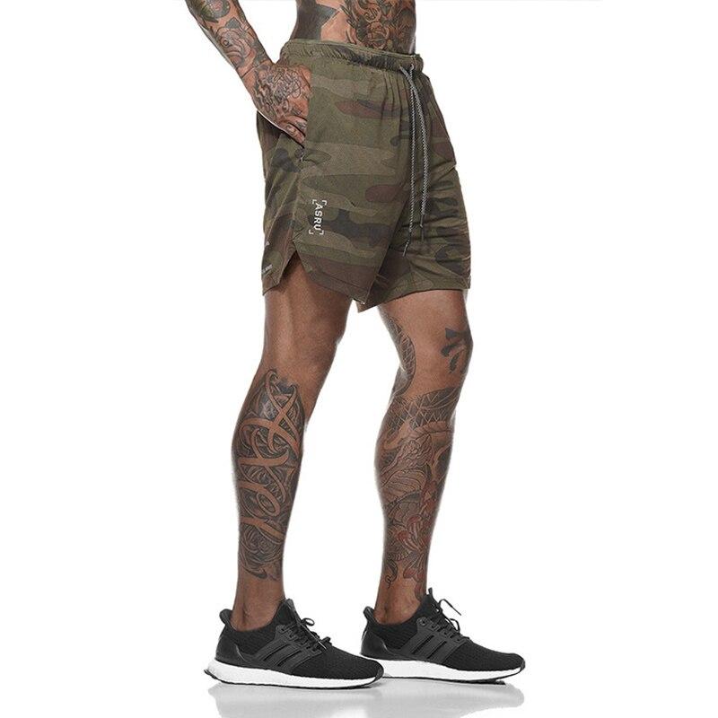 2019 New Men  Fitness Bodybuilding Shorts Mens Summer Casual Cool Short Pants Male Jogger Workout Beach Brand Breechcloth