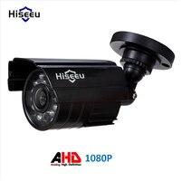Hiseeu Metalowa Obudowa AHD Analogowe Wysokiej Rozdzielczości Kamera Metalu AHDM 1080 P AHD Kamery CCTV Bezpieczeństwa Na Zewnątrz
