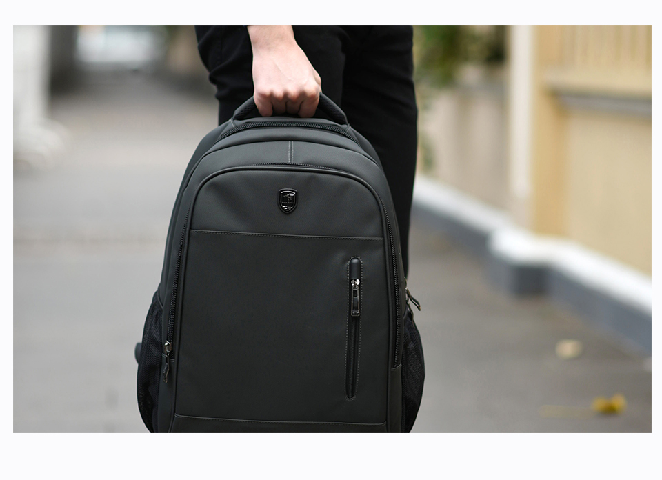 ARCTIC HUNTER Laptop Bags Waterproof School Backpack Bag For College Simple Design Men Casual Male New School Backpack
