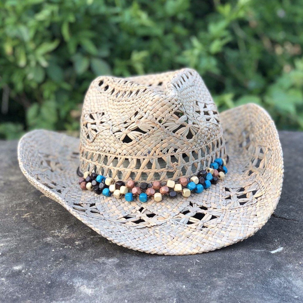 Hand Made Beach Felt Cowboy Hat 5