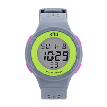 Fashion CU Brand Sports Watch Alarm Military Digital LED Watches For Men and Women Multifunctional Casual Wristwatches