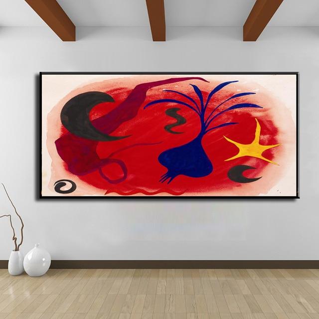 Célèbre Artiste Mirro Peinture Toile Impressions Photo HD Imprime Toile  Moderne Abstrait Mur Art Pour Salon