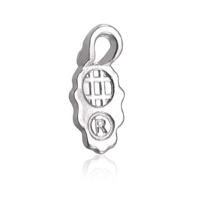 100 pièces cuillère colle sur Bail boucle d'oreille Bails pour tuile de verre bricolage connecteur pendentifs 13.5mm * 6mm * 3.3mm argent plaqué bijoux de mode