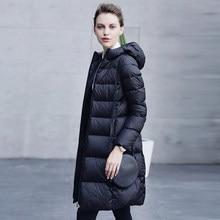 2016 new hot winter Thin Warm woman Down font b jacket b font Coats Parkas Outerwear