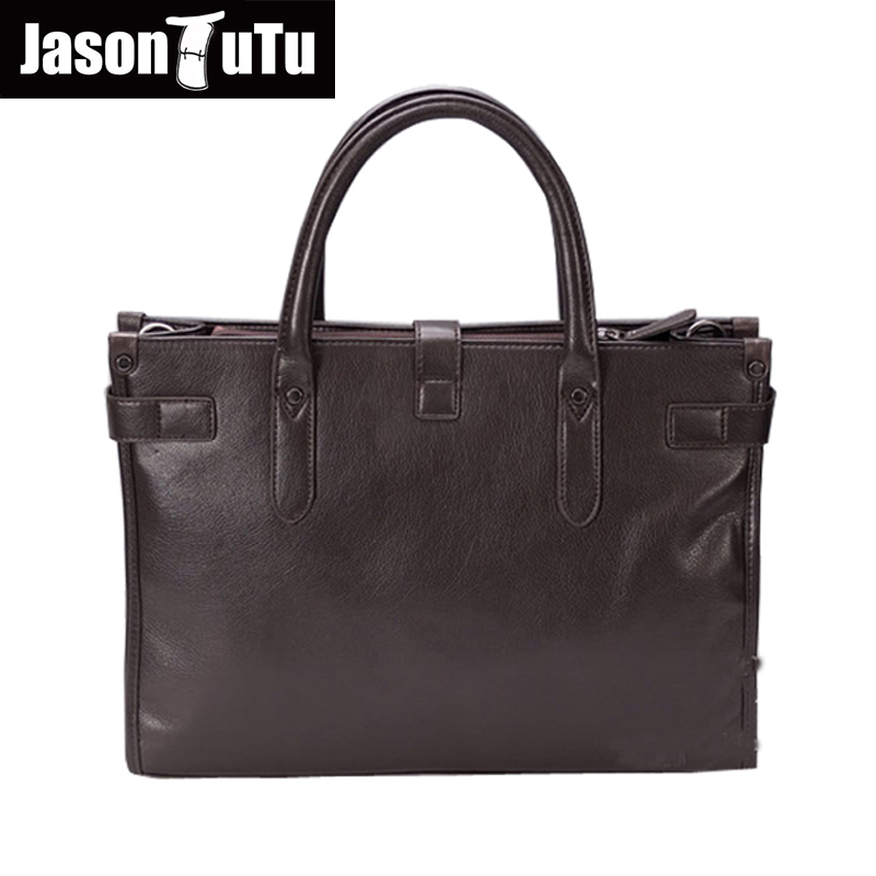 2017 Men handbag,Good quality PU leather shoulder bag,Brand designer Crossbody men bag JASON TUTU Brand Laptop bag B26