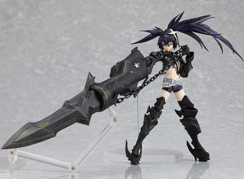 Japan Anime Figma Black Rock Shooter Figma SP 041 PVC Action Figure Collection Model Toys Doll 15cm 1