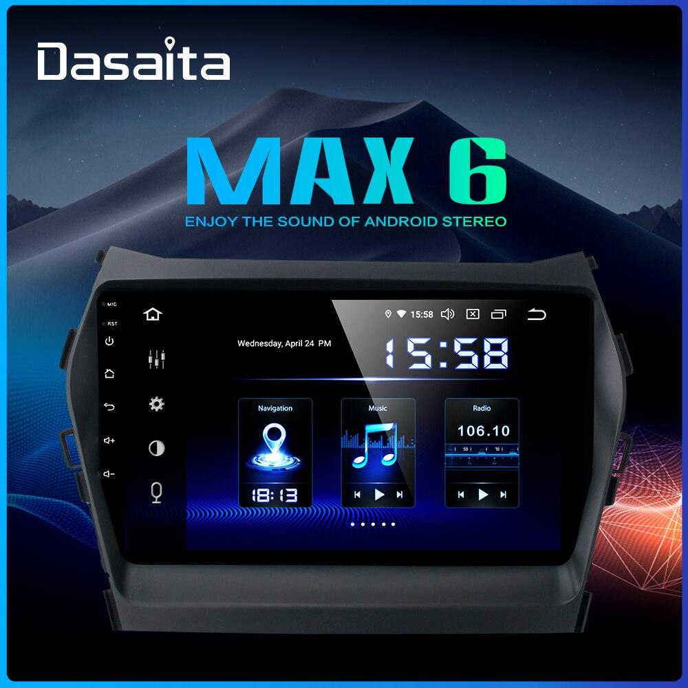 Sale Dasaita Car Radio 1 Din Android 9.0  for Hyundai IX45 2013 2014 2015 Autoradio 64GB ROM MP3 HDMI Car Stereo 0