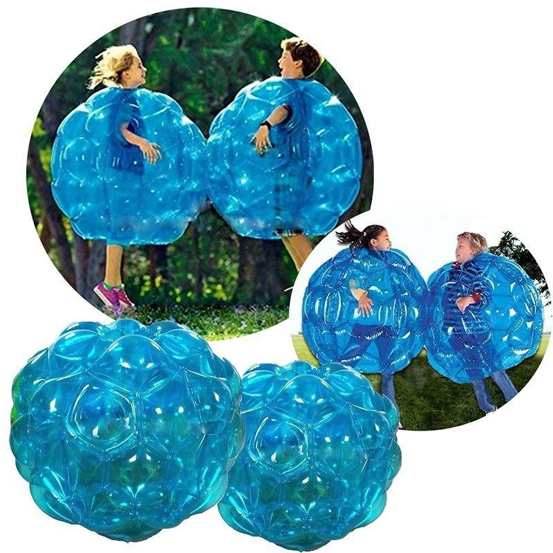 60/90cm Inflatable Bubble Knocker Ball Buddy Bumper Soccer Zorb Ball Children Bumper Football Adult Outdoor Family Play Toy