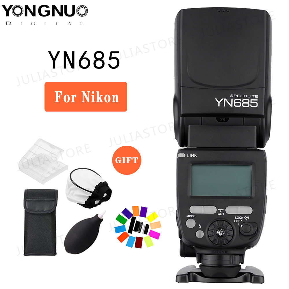 Yongnuo YN685 YN 685 GN60 2 4G System i TTL HSS Wireless Speedlight Flash with Radio