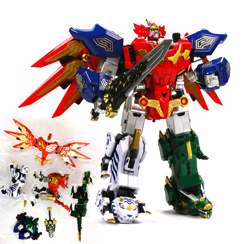 Power Ranger Action Figures Children Toys Gifts 5 in 1 Assembly Transformation Megazord 12pcs set children kids toys gift mini figures toys little pet animal cat dog lps action figures