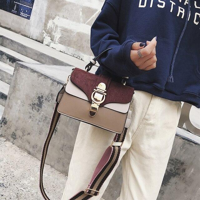 SWDF New High Quality Women Handbags Bag Designer Bags Famous Brand Women Bags Ladies Sac A Main Shoulder Messenger Bags Flap 3