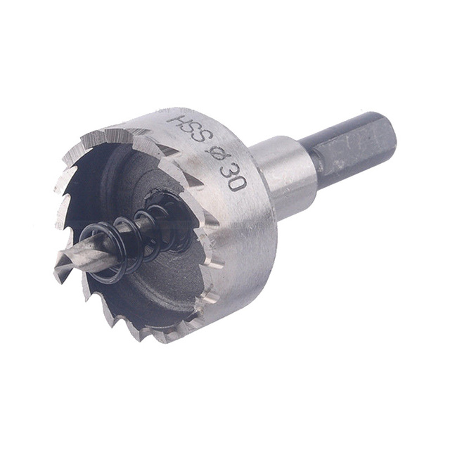 2019 High Quality 12-50mm HSS Drill Bit Hole Saw Set Stainless Steel Metal Alloy HOT Drill Bits сверла