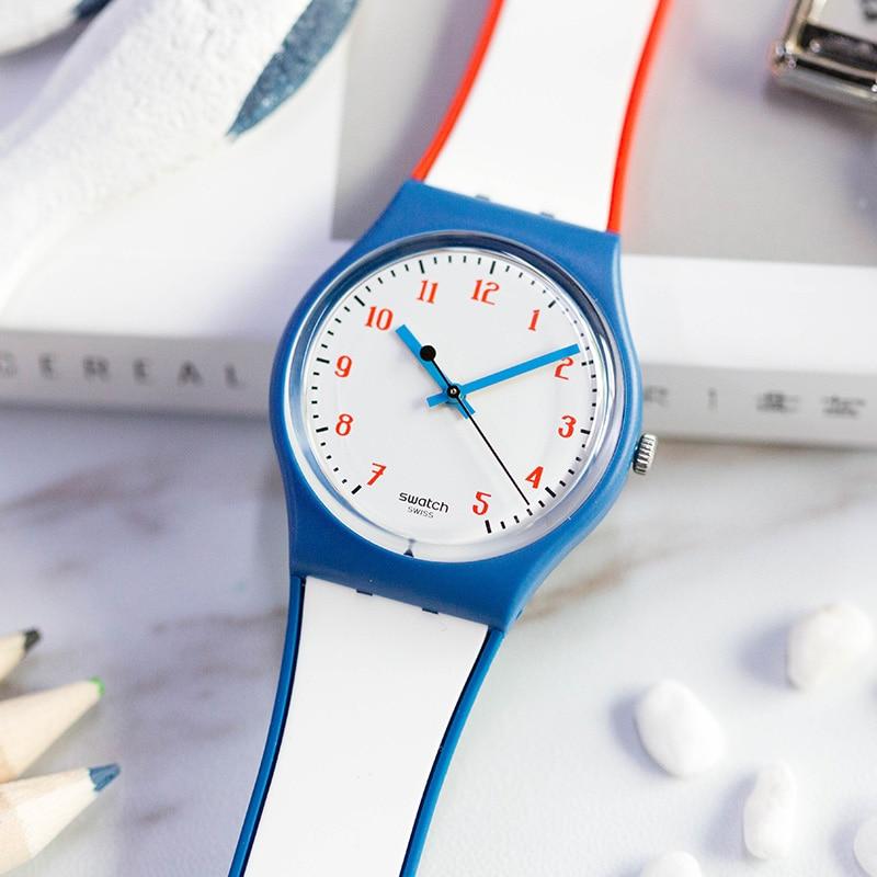 Swatch watches Classic Color Code Quartz Men's Watch GN248 цена и фото