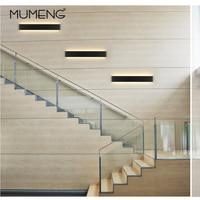mumeng LED Modern Wall Lamps 6W 14W Mirror Light Aluminum Lamp 90 265V Livingroom Bathroom Hallway Stairs bedside Sconce Light