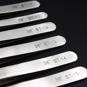 Image 3 - 100% Genuine Vetus ST Series New HRC 38 Ultra Precision 302 Stainless Tweezers Mink Eyelash Extensions Anti Acid
