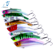 ANZHENJI New Brand 9cm 28g Hard Fishing Lure VIB Rattlin Hook Fishing Sinking Vibra Rattlin Hooktion Lures Pencil Baits