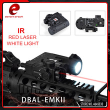 Element Airsoft Weapon Lights Tactical DBAL-EMKII IR Laser Led Torch Multifunction Illuminator DBAL-D2 Flashlight Black