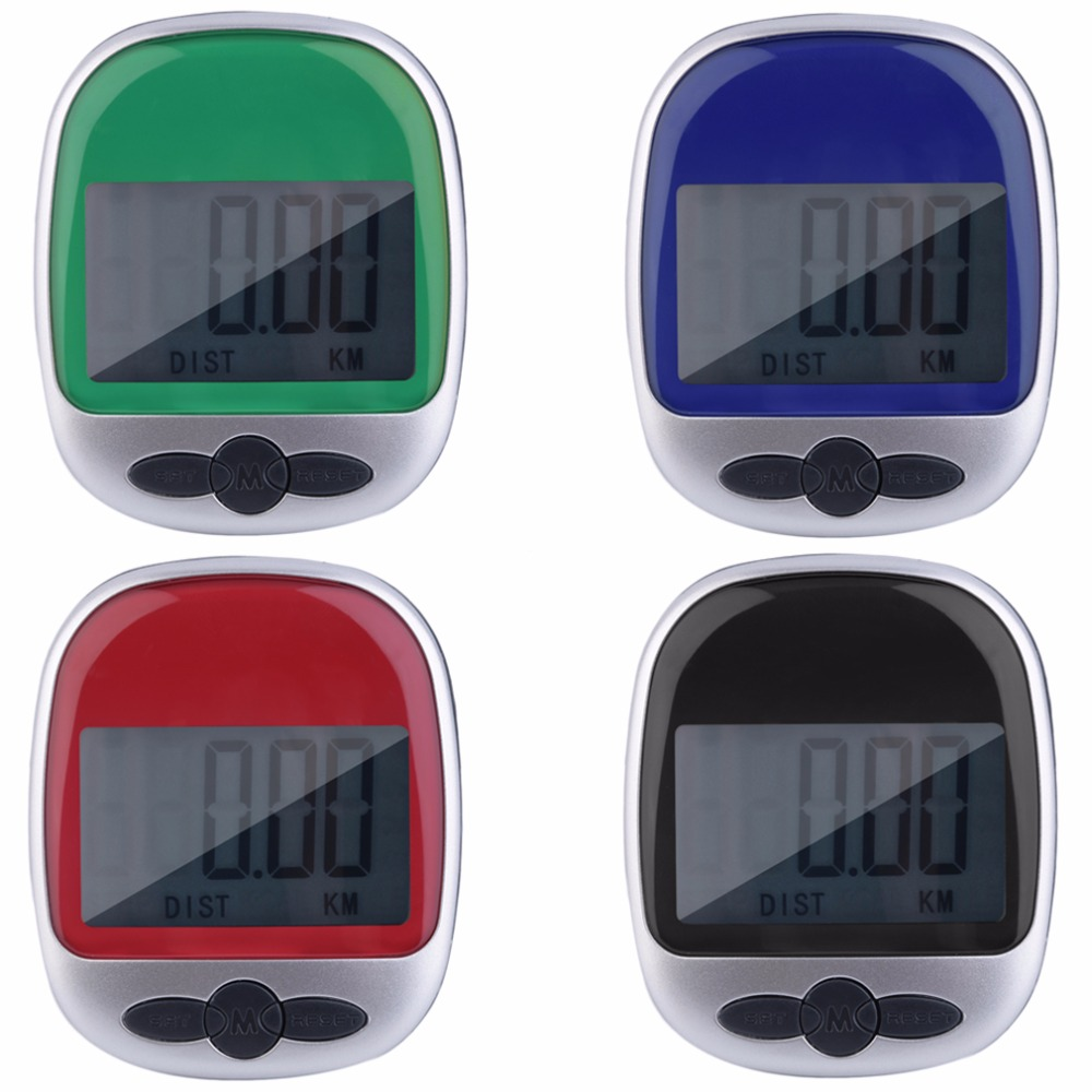 1pc Mini Running Jogging Walking Step LED Pedometer Distance Calorie Counter drop shipping