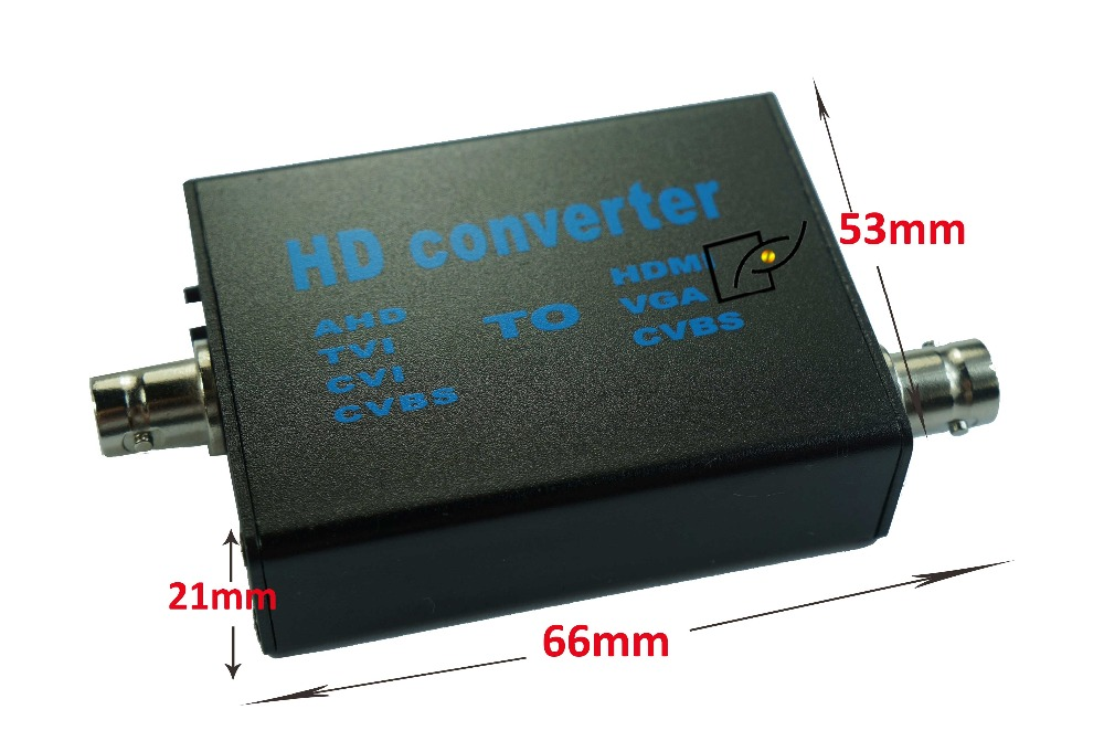 AHD to HDMI/VGA/CVBS Converter,monitor Video to HDMI VGA CVBS Converter цена