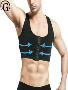 Chest-Corset Gynecomastia Shaper Correct Compression Posture Slimming Sleeveless Body-Building