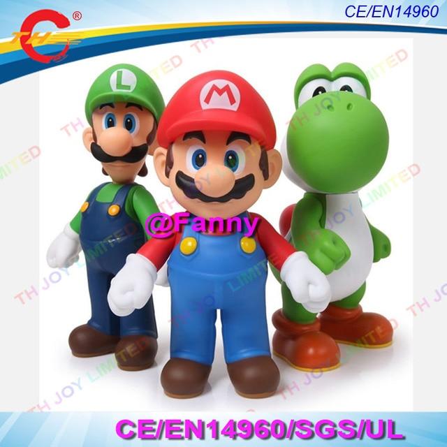 3pcslot 3m4m6m Giant Inflatable Super Mario Luigi Yoshi 3 Bros
