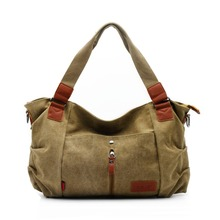 ZENTEII Women Canvas Handbag Shoulder Bag