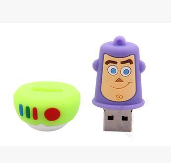 Cartoon Toy Story usb flash drive Buzz Lightyear usb flash drives pendrive 4GB-64GB USB Flash 2.0 Memory Drive Stick S337