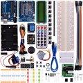 Miroad Completa Starter Kit para Arduino Com Uno R3 LCD Sensor de Motor AVR MCU Super Kits de Aprendizagem K23