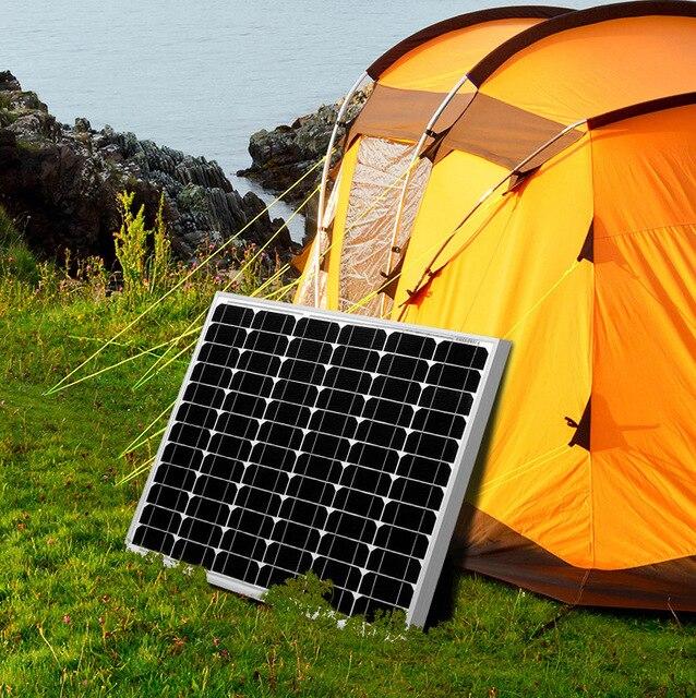 Aliexpress Com Buy Dokio Brand 80w 18 Volt Black Solar