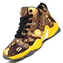 Новинка, стильные детские баскетбольные кроссовки с принтом граффити для мальчиков и девочек, уличные кроссовки для подростков, детские кроссовки