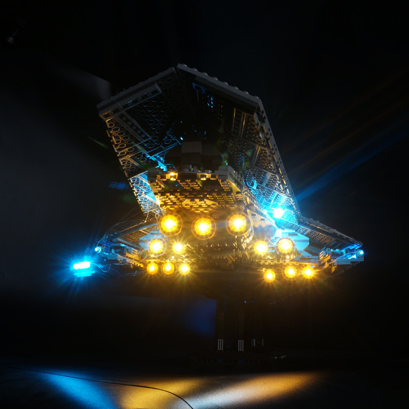 LED Light Kit For Star Wars Super Star Destroyer Building Block Light Set Compatible With 10221 And 05028