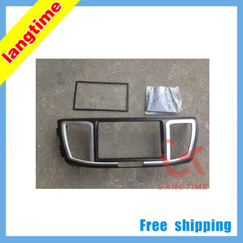 Free shipping-Car refitting DVD frame,DVD panel,Dash Kit for 2013 Honda Accord, 2DIN (American, Mideast Version, Low end)