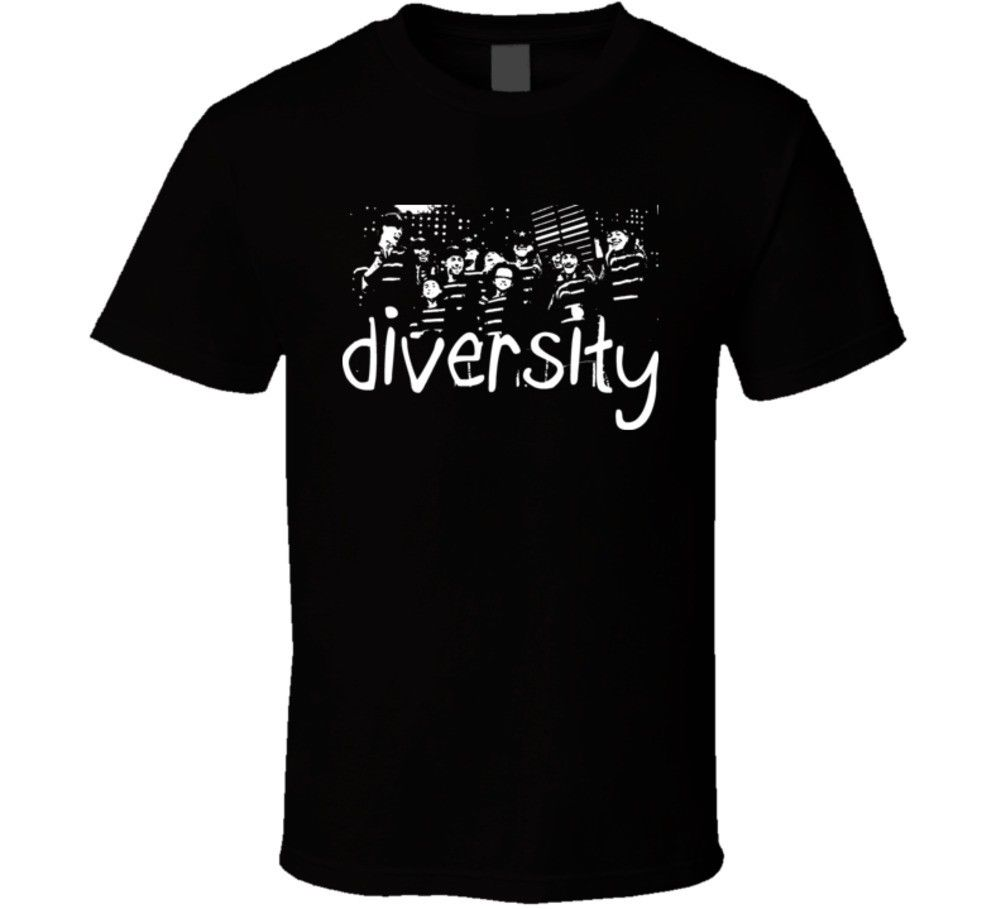 Diversity Britains Got Talent Winners T Shirt Printed Men T-Shirt Short Sleeve Funny Tee Shirts Tops O-Neck Shirts