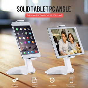 Image 2 - 360 Derece Rotasyon Tablet Standı Ayarlanabilir 7 15 inç Tablet Tutucu Için Ipad/Xiaomi/Huawei/Samsung evrensel Montaj Tutucu Braketi