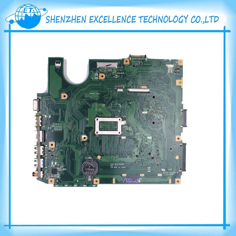 ФОТО Wholesale x45u laptop motherboard for Asus 60-NAOMB1502-B02 REV. 2.1