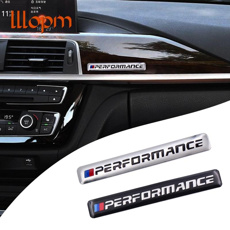 Motorsport Metal Logo Car Sticker Aluminum Emblem Grill Badge for BMW E34 E36 E39 E53 E60 E90 F10 F30 M3 M5 M6 Car styling auto chrome camaro letters for 1968 1969 camaro emblem badge sticker