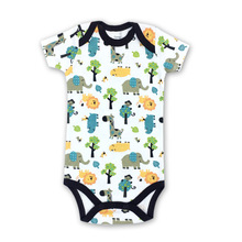 1 pieces baby clothes cotton short-sleeved bag fart clothing  jumpsuit romper childrens grils &Boys