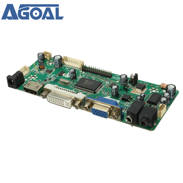 US $15 0 |M NT68676 2A HD Universal LCD Driver Board HDMI VGA DVI With  Audio Free Shipping-in Satellite TV Receiver from Consumer Electronics on