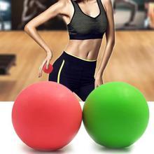 Механическая блокировка 63 мм Лакросс мяч фитнес-мяч для массажа для йоги TPE резиновые хоккейные ТРИГГЕРНАЯ точка отдыха самостоятельно массажный шар для йоги обучение лицевой панели