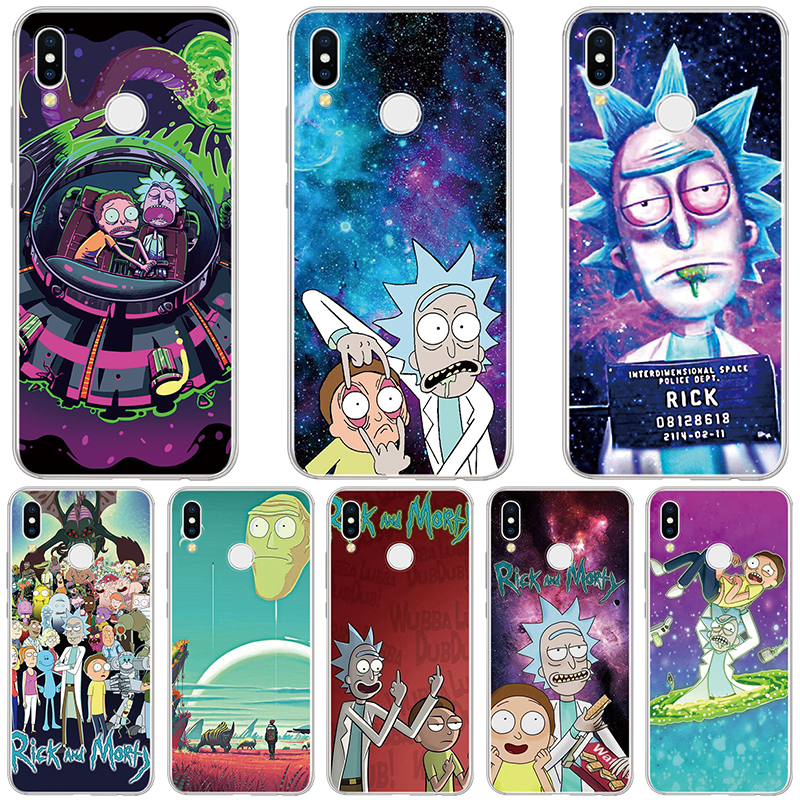 coque huawei p10 lite rick and morty