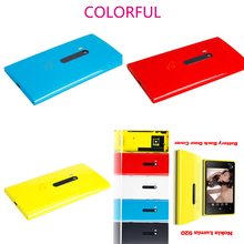 New Fashion Housing Battery Back Door Cover Case Side Buttons For Nokia Lumia 920 Cases Replacement