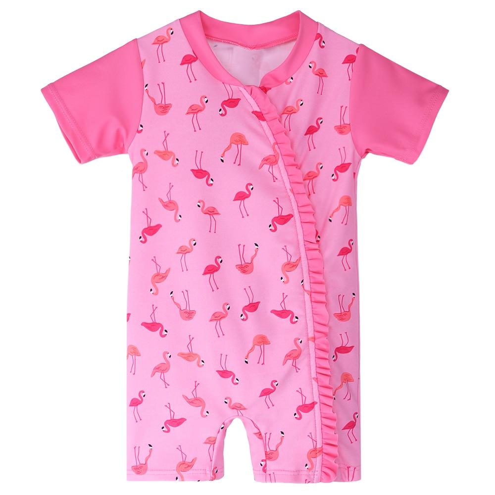 Baohulu 2018 Summer Baby Swimwear Uv50 Pink Toddler -3890