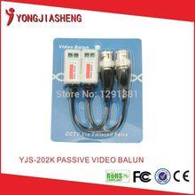 Twisted pair BNC passive CCTV video balun