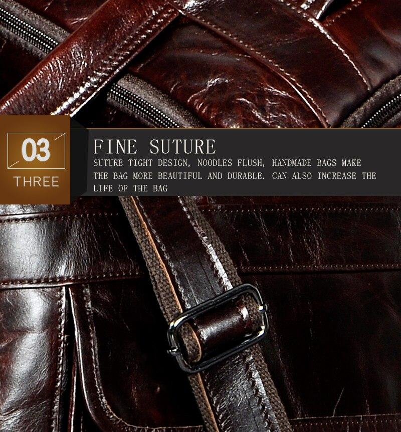 HTB1Gd6BdlfH8KJjy1Xbq6zLdXXaL Men Oil Waxy Leather Antique Design Business Briefcase Laptop Document Case Fashion Attache Messenger Bag Tote Portfolio 7146