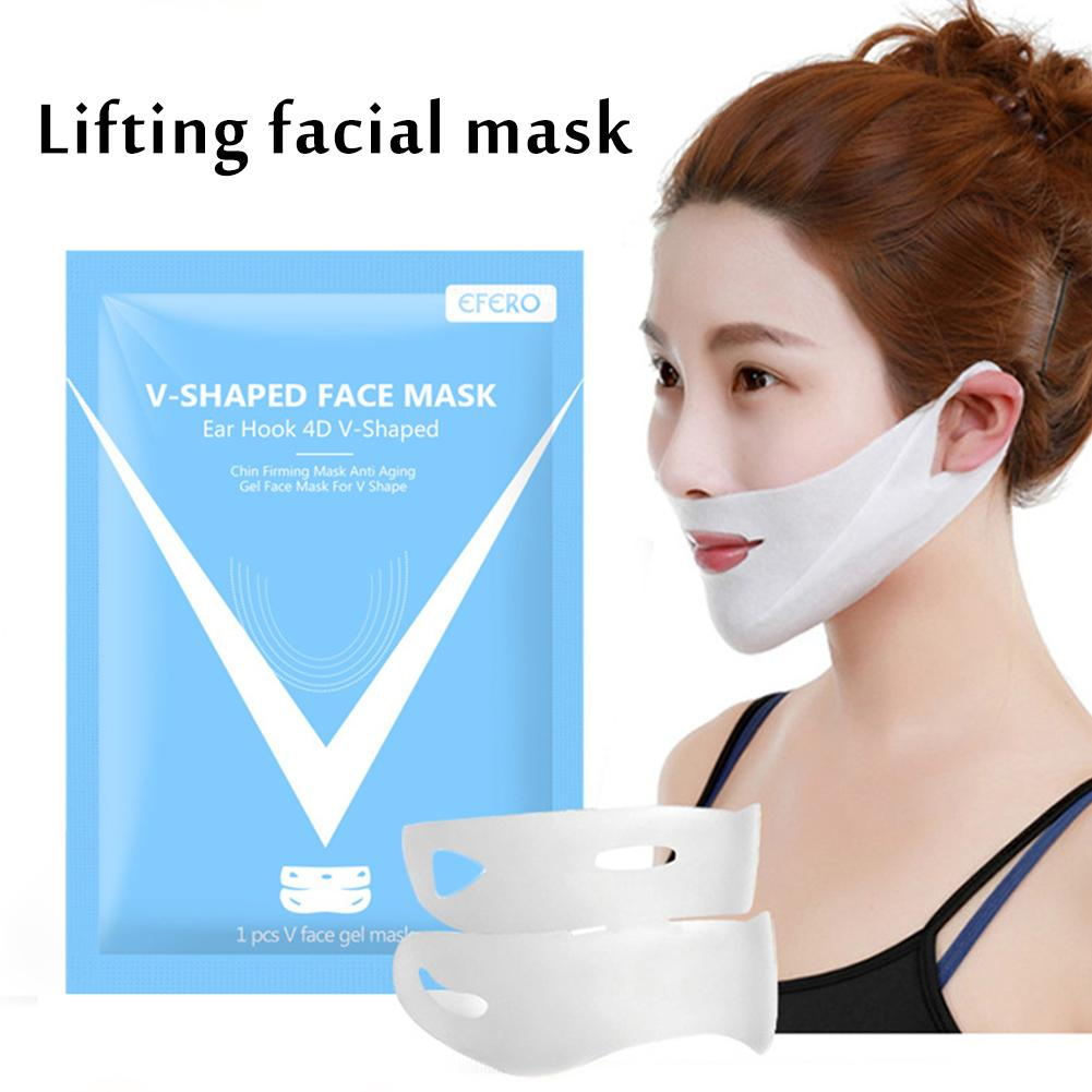 4D Lifting Mask V Line Face Lift Massage Slimming Anti Wrinkle Lifting Layer Mask Firming Face Thin Mask Women Beauty Tools